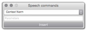 Speech Commands